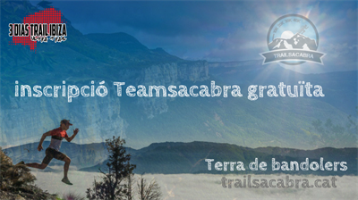 Inscripción gratuita para www.trailsacabra.cat