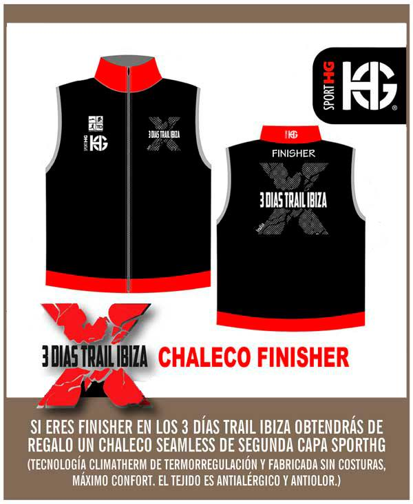 chaleco finisher